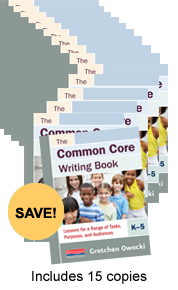 Common Core Writing Book Book Study Bundle