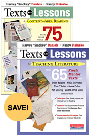 Texts and Lessons Bundle cover