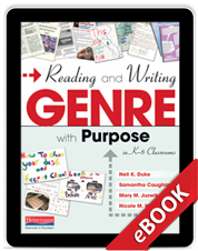 Learn more aboutReading and Writing Genre with Purpose in K-8 Classrooms (eBook)