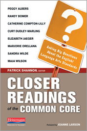 Closer Readings of the Common Core cover