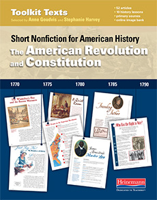 The American Revolution and Constitution cover