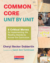 Common Core,  Unit by Unit cover