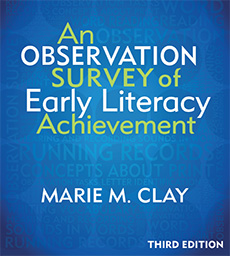 An Observation Survey of Early Literacy Achievement, Third Edition cover