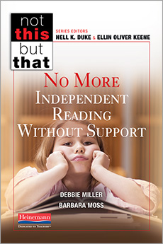 No More Independent Reading Without Support cover