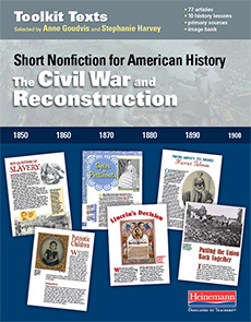 The Civil War and Reconstruction cover