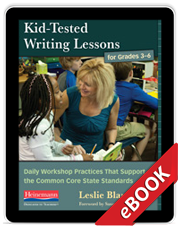 Kid-Tested Writing Lessons for Grades 3-6 (eBook) cover