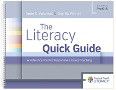 The Literacy Quick Guide cover