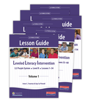 LLI Purple Lesson Guides 1 - 6 (Pack)