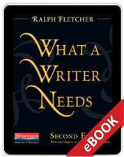 Learn more aboutWhat a Writer Needs, Second Edition (eBook)