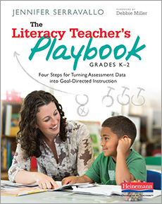 The Literacy Teacher's Playbook, Grades K-2 cover