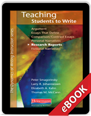 Teaching Students to Write Research Reports (eBook)