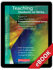 Teaching Students to Write Comparison/Contrast Essays (eBook)