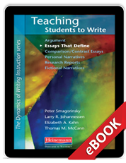 Teaching Students to Write Essays That Define (eBook)