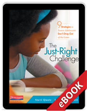 Learn more aboutThe Just-Right Challenge (eBook)
