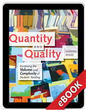 Learn more aboutQuantity and Quality (eBook)