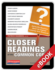 Closer Readings of the Common Core (eBook)