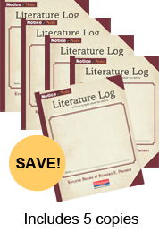 Notice & Note Literature Log (5-pack) cover