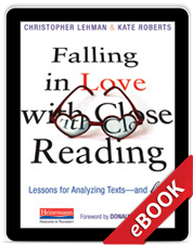 Learn more aboutFalling in Love with Close Reading (eBook)