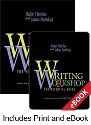 Learn more aboutWriting Workshop: The Essential Guide (Print Ebook Bundle)