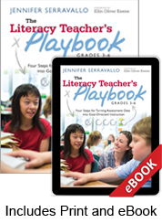 Learn more aboutLiteracy Teacher's Playbook 3-6 (Print eBook Bundle)