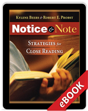 Notice & Note (eBook) cover