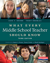 What Every Middle School Teacher Should Know, Third Edition cover