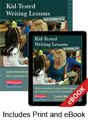 Kid-Tested Writing Lessons for Grades 3-6 (Print eBook Bundle)