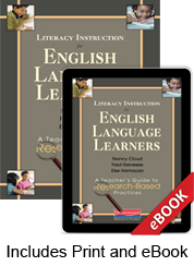 Learn more aboutLiteracy Instruction for English Language Learners (Print eBook Bundle)