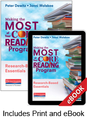 Making the Most of Your Core Reading Program (Print eBook Bundle)