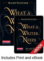 Learn more aboutWhat a Writer Needs, Second Edition (Print eBook Bundle)
