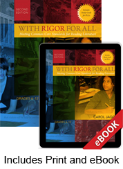With Rigor for All, Second Edition (Print eBook Bundle)