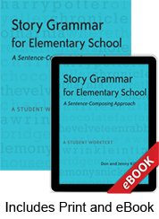 Story Grammar for Elementary School (Print eBook Bundle)