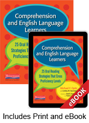 Learn more aboutComprehension and English Language Learners (Print eBook Bundle)