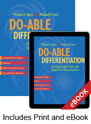Do-able Differentiation (Print eBook Bundle)