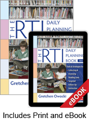 The RTI Daily Planning Book, K-6 (Print eBook Bundle)