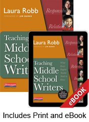 Learn more aboutTeaching Middle School Writers (Print eBook Bundle)