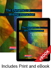 The Dynamics of Writing Instruction (Print eBook Bundle)