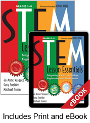 Learn more aboutSTEM Lesson Essentials, Grades 3-8 (Print eBook Bundle)