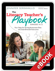 Learn more aboutThe Literacy Teacher's Playbook, Grades K-2 (eBook)
