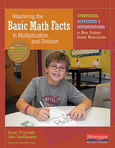 Mastering the Basic Math Facts in Multiplication and Division cover