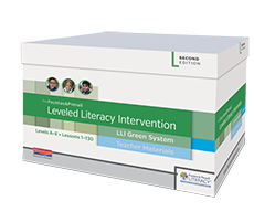 Fountas & Pinnell Leveled Literacy Intervention (LLI) Green System, Second Edition