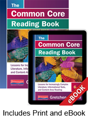 The Common Core Reading Book, 6–8 (Print eBook Bundle) cover