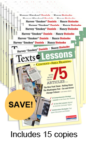 Texts and Lessons for Content-Area Reading Book Study Bundle Pack
