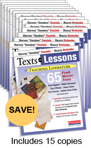 Texts and Lessons for Teaching Literature Book Study Bundle