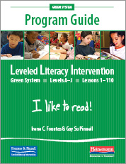 LLI Green System (Grade 1) Program Guide
