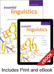 Learn more aboutEssential Linguistics, Second Edition (Print eBook Bundle)