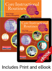 Core Instructional Routines (Print eBook Bundle)