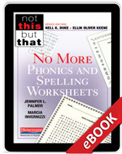 No More Phonics and Spelling Worksheets (eBook) cover