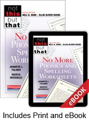 No More Phonics and Spelling Worksheets (Print eBook Bundle)