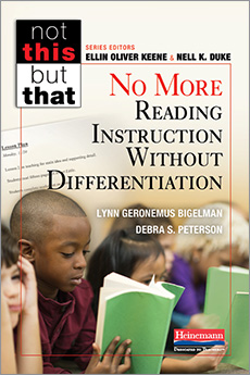 No More Reading Instruction Without Differentiation cover